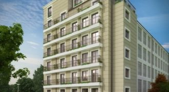 Two bedroom apartment in a new building